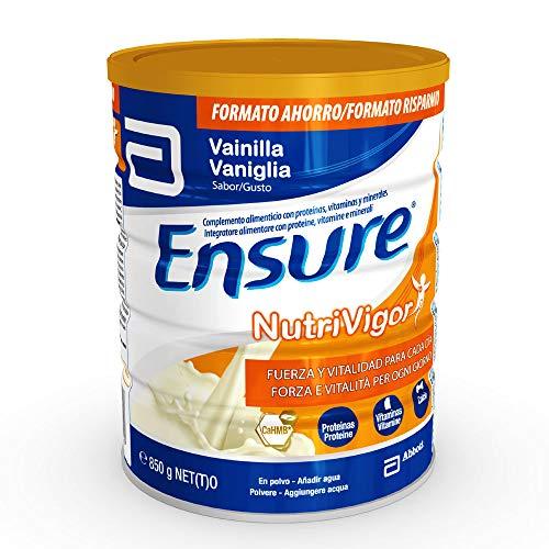 Ensure NutriVigor Integratore alimentare multivitaminico e sali minerali. Più energia con proteine, vitamina d e 1500 mg di HMB. Vaniglia - 850 gr