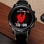 LEMFO Android 51 OS 3G Smart Watch Phone ROM 8G RAM 1G Nano SIM Card 139 OLED Screen 13GHz Quad Core CPU GSM WCDMA Wifi BT40 GPS Pedometer Heart Rate Smartwatch For Android 44 IOS 80