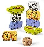 Tobar TAP TAP–23082–Geschicklichkeitsspiel mit Formen der Tiere