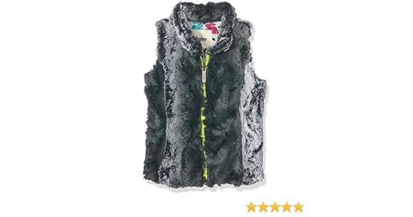 Hatley Girls Ski Bunny Faux Fur Vest Gilet