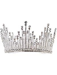 a62129361a2f auvwxyz Tiaras Tiara Nupcial Boda Corona Vestido De Novia con Accesorios  Ronda Princesa Corona