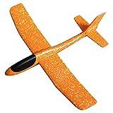 Yannay Viel Spaß Hand wirft Flugzeug Farbe Bubble Swing Flugzeug Kinder Modell Schaukel Spielzeug (gelb)