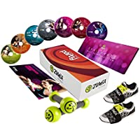 Preisvergleich für Zumba-Set, Exhilarate-Komplettset, join the Party inkl. Ernährungsplan und Zumba® Fitness Toning Sticks zumba fitness zumba video zumba workout