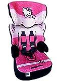 HELLO KITTY Kindersitz KINDER AUTOSITZ BABY SITZ Gruppe.I,II,III 9-36kg + Gratis Mini Haribo