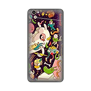 Digi Fashion Premium Back Cover with direct sublimation printing for Vivo V55S