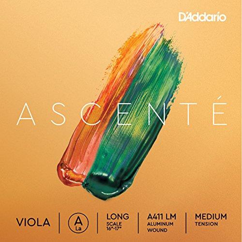 D\'Addario Ascenté A-Saite für Viola, volle Größe, mittlere Spannung