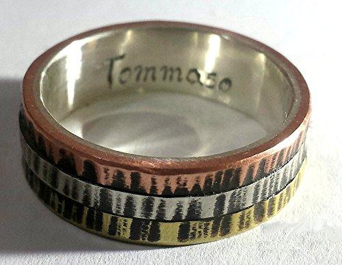 anello-di-fidanzamento-dargento-con-tre-metalli-sullesterno-stile-cartier