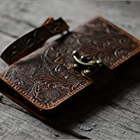 handmade Genuine leather wallet case FOR Samsung Galaxy S9 PLUS /S9+ S9 case leather case for s7 edge and S8 / S8+ S8 plus