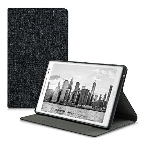 kwmobile-custodia-per-asus-zenpad-80-con-rivestimento-in-stoffa-e-sostegno-con-design-tessuto-tablet
