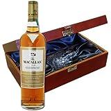 Macallan Gold WhiskyDans coffret de luxe avec Royal Scot verre