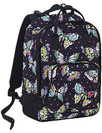 Preisvergleich für Rucksack/Tasche Seven The Double Pro Bag–Schwarz–24LT Rückenlehne abnehmbar