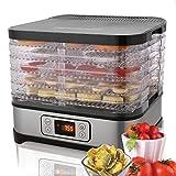 QENCI Máquina deshidratadora de alimentos Conservador de alimentos eléctricos multinivel profesional para carne o carne de res Secado de frutas y verduras