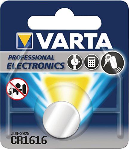VARTA Lot de 2 Piles bouton lithium\