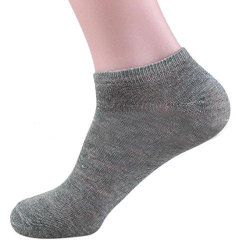 Neu strümpfe unisex,Liusdh Baumwolle Schiff Boot kurze Socke Knöchel unsichtbare Socken warmer Winter socken(Gray,Freie Größe) -