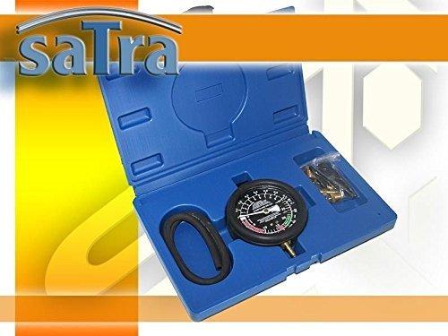 Vakuum Tester Benzindrucktester Set Unterdruck Vakuumtester Benzinpumpen Benzin-Pumpe Manometer Vergaser einstellen Benzinpumpe Drucktester Pkw Druckprüfung Kraftstoff Kfz Druckprüfer Prüfgerät