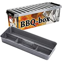 PIXNOR 6-in-1 K/üche Grill Gew/ürz Flaschen /Ölk/ännchen Spice Box Grey