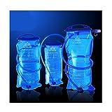 Trinkblase 1L, 1,5L, 2L, 3L, Tasche, Rucksack, System-Packung, Wasserbehälter, für Camping, Wandern, passend für Camelbak, Reisen, Wasser-Tasche, Trekking-Rucksäcke, blau