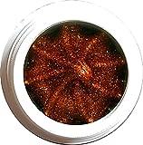5g 3D Glittergel Kupfer (09) Made in Germany. Super dickviskos