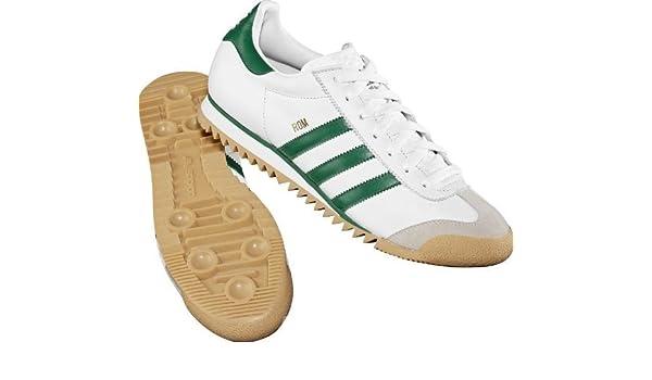 adidas Originals Roma G44184 Sneaker Uomo BiancoVerde, 38
