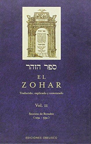 El Zohar, Volume II: 2 (Coleccion Cabala y Judaismo) por Zijrona Libraja