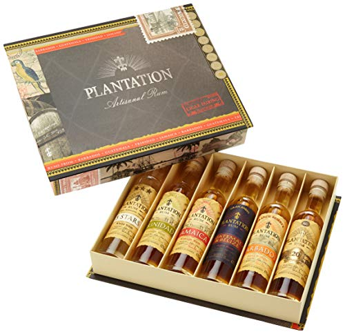 Plantation Rum in Cigar Box (6 x 0.1 l)