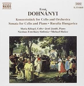 Cello-Werke (Konzertstück op. 12, Sonate op. 8)