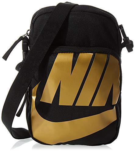 Nike Heritage 2.0 Tasche schwarz/gold