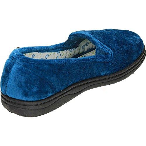 Dr Keller ,  Damen Durchgängies Plateau Sandalen mit Keilabsatz Blaugrün