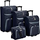 Travelite Koffer Set Orlando 2-Rad Trolley Set L/M/S blau