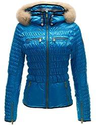 Toni Sailer para mujer-esquí Tilda para Women Jacket - Malibu, color  - malibu, tamaño 40