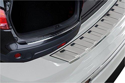 Preisvergleich Produktbild Akhan KS1016 - Edelstahl Ladekantenschutz geeignet für Mercedes W204 (07-13) C-Klasse
