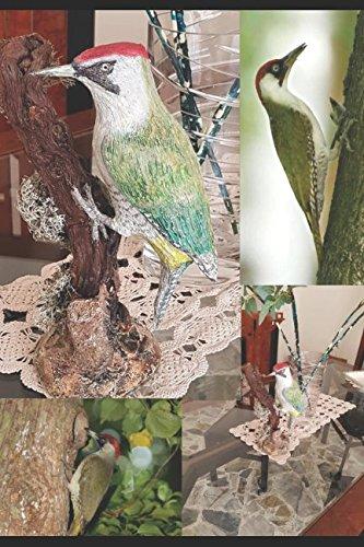 DESDE TAXIDERMY A LA ESCULTURA: NOCIONES Y TÉCNICAS VOL. 4 AVES: Escultura de un carpintero verde (Dalla Tassidermia alla Scultura)