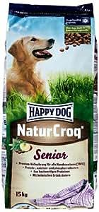 happy dog hundefutter 2565 naturcroq senior 15 kg amazon. Black Bedroom Furniture Sets. Home Design Ideas