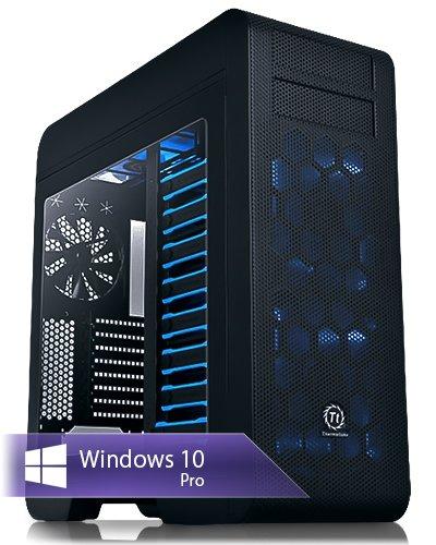 Ankermann-PC WildRabbit Hydro ProGame, 24 meses de garantía, Intel i7-8700K 6x3.7GHz, GeForce GTX 1070 Ti 8GB, 16GB RAM, 525GB SSD, 2TB HDD, Windows 10 Pro