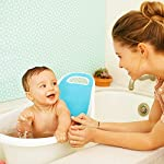 Munchkin Sit and Soak Baby Bath Tub with Built-in Support Bump and Padded Foam Back Rest, Bonus Pull-Tab Drain and Storage Hook, 0-12 Months, White 6