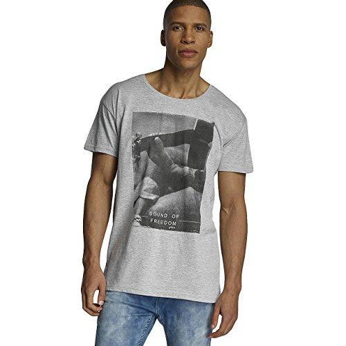 Sublevel Herren Oberteile / T-Shirt Sound of Freedom Grau