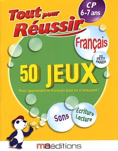 Français avec petit panda : 50 jeux CP 6-7 ans