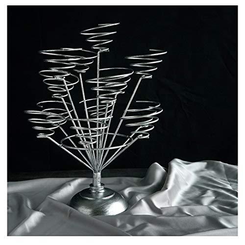 d, süß macht es Draht Spiral Design, Vintage Silber für 13 Cupcakes, 31 X 40 cm, Single Diameter 8CM ()