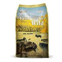Taste of The Wild Grain Free Premium High Protein Dry Dog Food High Prairie Adult Roasted Bison & Roasted Venison 2.27kg