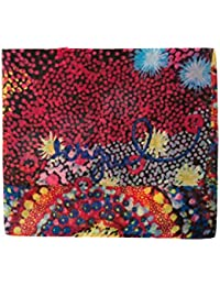Desigual Women's Foulard_starfish Rectangle Scarf, Red (Red 3074), One Size (Manufacturer Size: U)