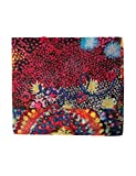 Desigual Damen Schal Foulard_Starfish Rectangle, Rot (Red 3074), One Size (Herstellergröße: U)