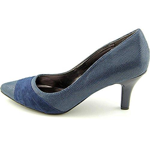 Sapatos Marinha Salto Sintético Gladdys Karen Scott De Apontou wq6UW7zx