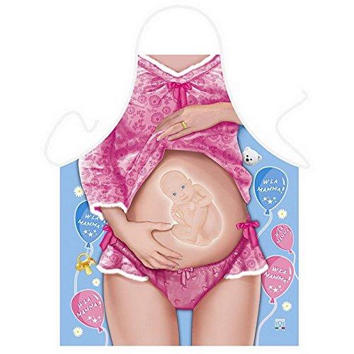 Baby On Board Preggo Schürze von ITATI + Griller Urkunde von Goodman Design®