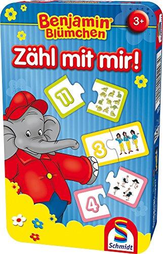 Schmidt Spiele 51407 Puzzle Puzzle - Rompecabezas (Puzzle Rompecabezas, Educación, Niño pequeño, Elefante, 3 año(s), 10 min)