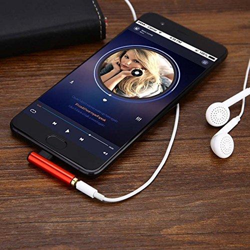 PerGrate USB 3.1 Typ C zu 3,5 mm Kopfhöreranschluss für Xiaomi 6 Note3 Huawei Mate 10 Z10 (Note3-kopfhöreranschluss)
