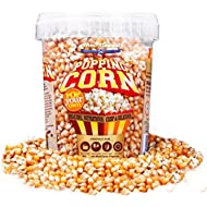 Popping Corn - Traditional USA Popcorn Kernels (850g Tub) by MacCorns Since 1991