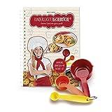 Kinderleichte Becherküche - Kleine Gerichte ganz groß! (Band 4): Backset inkl. 3-teiliges Messbecher-Set, mit 10 Rezepten für Fingerfood & Snacks, Original aus