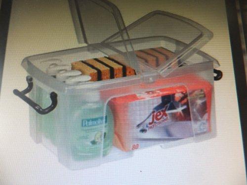 Cep Kunststoffboxen 40,5 x 29,5 x 18,3 cm (BxTxH) transparent 12 Liter Aufbewahrungsbox