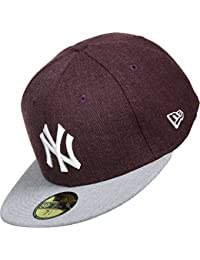 New Era MLB Heather Contrast 59fifty NY Yankees casquette
