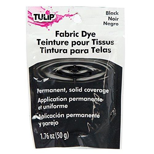 Tulip 26588 1 Paquet de Teinture Permanente 50 g pour Tissu Noir